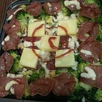 牛油果菠萝香肠焗饭的做法图解10