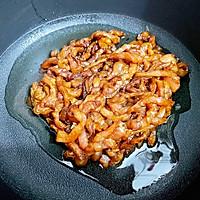 青椒肉丝盖浇饭的做法图解5
