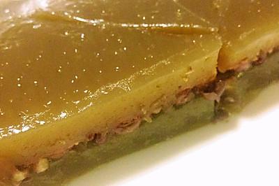 红豆马蹄糕—免烤箱零失误甜品