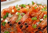 蒜茸粉丝开边虾的做法