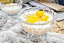 健康低脂芒果酸奶西米露的做法
