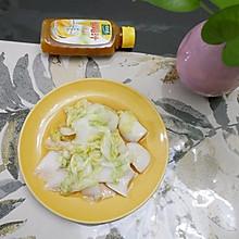 #太太乐鲜鸡汁玩转健康快手菜#清炒娃娃菜也可以这么好吃