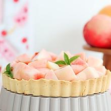#秋天怎么吃# 蜜桃奶酪挞