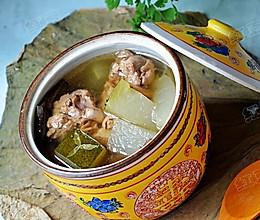 荷叶鸭肉冬瓜汤-大暑养生的做法