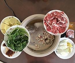 简易火锅—菌汤锅的做法
