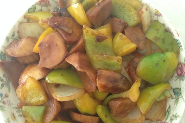 下饭菜甜口杏鲍菇的做法
