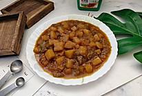 酱香土豆炖茄子的做法