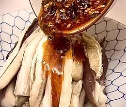 川味手撕茄子的做法