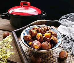 砂锅版烤板栗的做法
