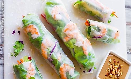 越南鲜虾春卷的做法