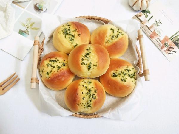 黄油蒜香面包的做法