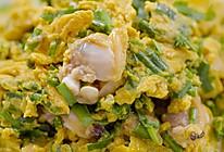 【韭菜鸡蛋爆蛤肉】山东人这么炒鸡蛋,谁能顶得住的做法