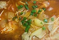 刷脂韩国泡菜汤-辣酱汤的做法