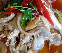 新疆椒麻鸡的做法