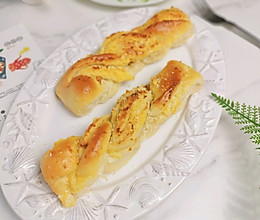 #餐桌上的春日限定#无糖柔软拉丝椰蓉棒面包的做法