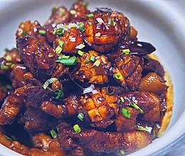 超下饭的鲍鱼红烧肉的做法