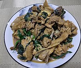 紫苏炒鸭子的做法