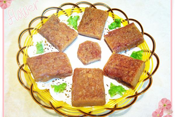 自制红糖糯米年糕的做法
