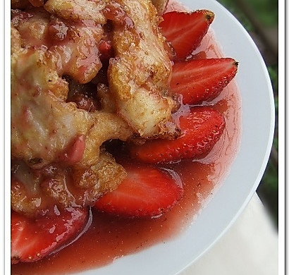 变着花样勾引味蕾——草莓鱼片-春季美食