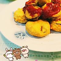 鱼肉茄饼的做法图解5