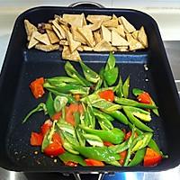 【青椒炒豆腐】——贵州家常小炒的做法图解6