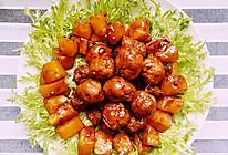 红烧土豆小丸子的做法