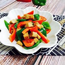 #花10分钟,做一道菜!#彩椒炒鸡丁