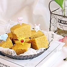 宝宝辅食8+ 健脾胃防便秘的红薯山药蒸糕