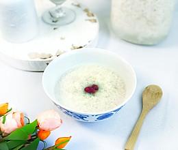 #憋在家里吃什么#米酒汤圆的做法