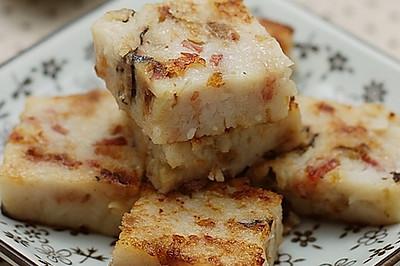 中式传统糕点萝卜丝糕