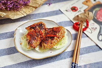 最简单的鸡翅便当:香辣脆皮鸡翅,一腌一煎搞定