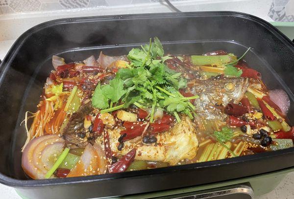 平凡的烟火气——家庭版香辣豆豉烤鱼