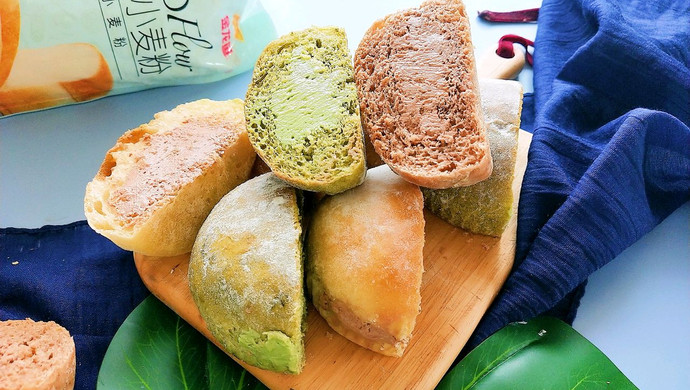 新手也能做的冰乳酪面包