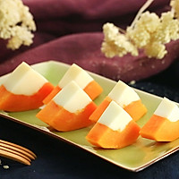 木瓜牛奶冻——迷迭香的做法图解10