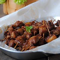 孜然牙签肉#美的烤箱菜谱#的做法图解8