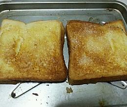烤面包片的做法