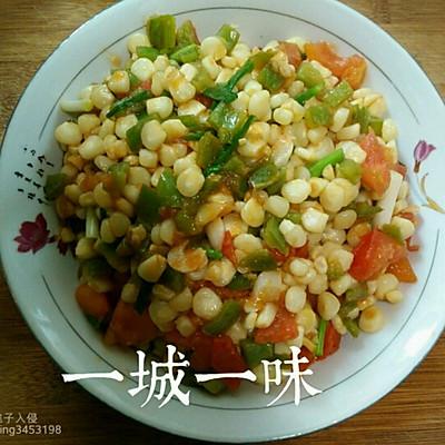 玉米青椒【粗粮减肥】