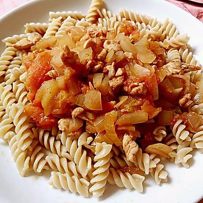 全麦低脂高蛋白高纤维意大利面