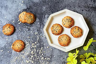 分分钟就能做好的低脂燕麦饼干,香到没朋友!