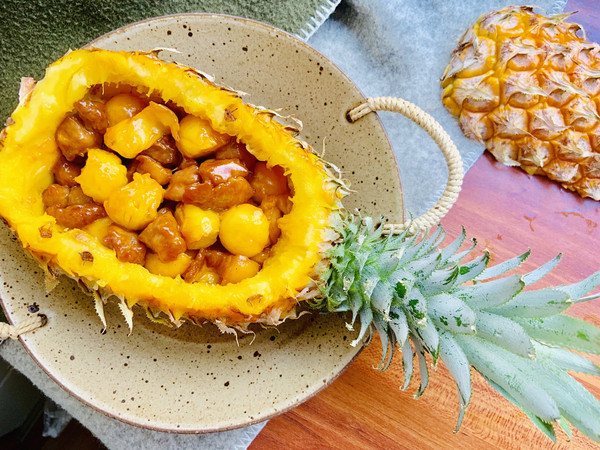 菠萝咕咾肉的做法