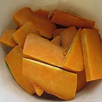 """#美食说出""""新年好""""#南瓜糯米饼的做法图解1"""