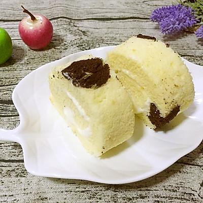 奶牛奶油蛋糕卷