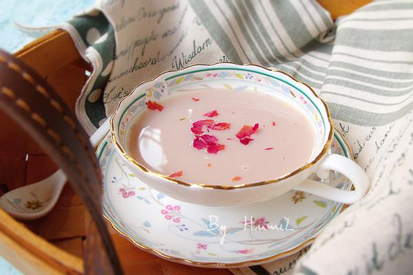 薏米玫瑰豆浆#美的早安豆浆机#的做法