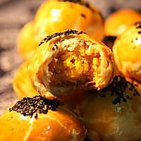 蛋黄酥(附猪油做法)的做法图解10