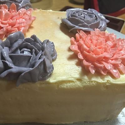 裱花蛋糕之奶酪霜的做法 步骤7