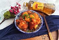红烧猪蹄炖土豆#金龙鱼外婆乡小榨菜籽油,我要上春碗#的做法