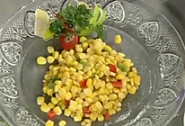 松仁玉米配玉米片的做法