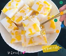 #芒果椰汁糕 #零失手 #广式早茶的做法