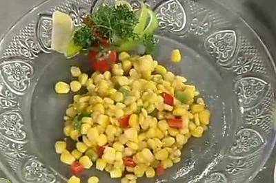 松仁玉米配玉米片