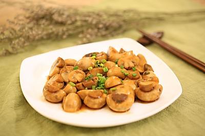 素炒鲜口蘑-迷迭香
